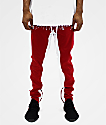 American Stitch Duo STP Red & White Track Pants