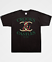 Crooks & Castles Bamboo Lock Black T-Shirt