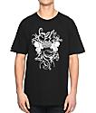 Crooks & Castles Chain Seas Medusa Black T-Shirt