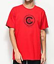 Crooks & Castles Crusher Red T-Shirt