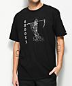 Crooks & Castles Reaper Black T-Shirt