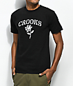 Crooks & Castles Rose Black & White T-Shirt