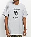 Crooks & Castles Rose Grey T-Shirt