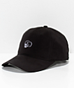 Crooks & Castles Skull Black Strapback Hat