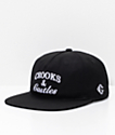 Crooks & Castles Timeless Black Snapback Hat