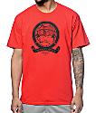 Crooks and Castles Medusa Banner Red T-Shirt
