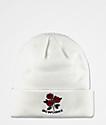 Empyre Omen Roses White Beanie