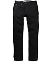 Free World Messenger Black Denim Super Skinny Jeans