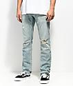Free World Messenger Westport Distressed Skinny Stretch Jeans