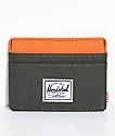 Herschel Supply Co. Charlie Forrest Night & Orange Cardholder