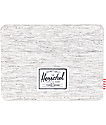 Herschel Supply Co. Charlie Light Grey Crosshatch Cardholder Wallet