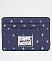 Herschel Supply Co. Charlie Peacoat Gridlock Cardholder Wallet