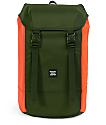 Herschel Supply Co. Iona Forest Night & Orange 24L Backpack