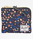 Herschel Supply Co. Johnny Black Mini Floral Wallet