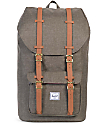 Herschel Supply Co. Little America Canteen Crosshatch 25L Backpack