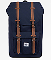 Herschel Supply Co. Little America Quilted Peacoat 25L Backpack