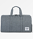 Herschel Supply Co. Novel Raven Crosshatch 42.5L Duffle Bag