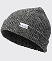Neff Fold Heather Black & White Beanie