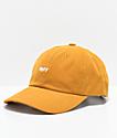 Obey Jumble Bar III Gold 6 Panel Hat