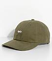 Obey Jumble Bar III Olive Green Six Panel Hat