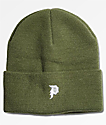 Primitive Mini Dirty P Olive Beanie