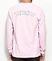 RipNDip Cats Long Sleeve Pink T-Shirt