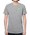 RipNDip Lord Alien Pocket Heather Grey T-Shirt