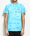 RipNDip Lord Nermal Blue Crystal Wash Pocket T-Shirt