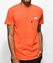 RipNDip Lord Nermal Orange Pocket T-Shirt