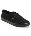 Vans Authentic Lo Pro All Black Shoes