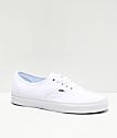 Vans Authentic White Skate Shoes