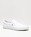 Vans Classic Slip On True White Monochromatic Shoes