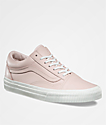 Vans Old Skool Embossed Sepia Rose & Blanc Shoes