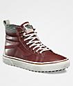 Vans Sk8-Hi MTE Slim Sable & Marshmallow Shoes
