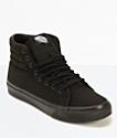 Vans Sk8-Hi Slim Black Shoes
