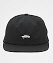 Vans x Thrasher Jockey 6 Panel Black Strapback Hat