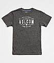 Volcom Boys Garage Club Heather Black T-Shirt
