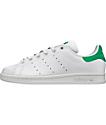 adidas Stan Smith White & Green Shoes (Kids)