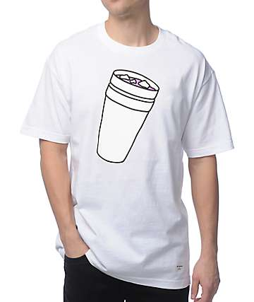 40's & Shorties Double Cup White T-Shirt