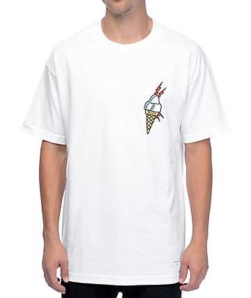 40s & Shorties Ice Cream White T-Shirt