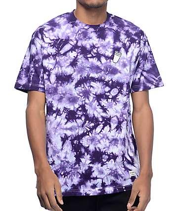 40s & Shorties Double Cup Purple Tie Dye T-Shirt