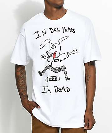 A-Lab Dawgie Daze White T-Shirt