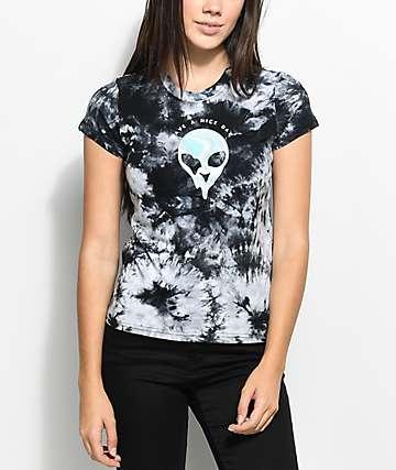 A-Lab Ezra Nice Day Alein Tie Dye T-Shirt