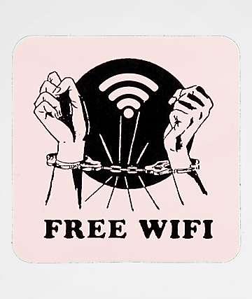 A-Lab Free Wifi Sticker