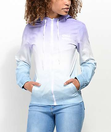 A-Lab Kenlie Purple & Aqua Ombre Jacket