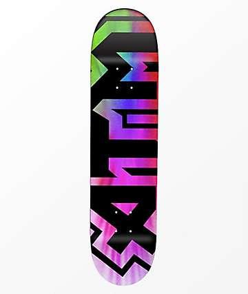 """ATM Tie Dye 7.75"""" Skateboard Deck"""