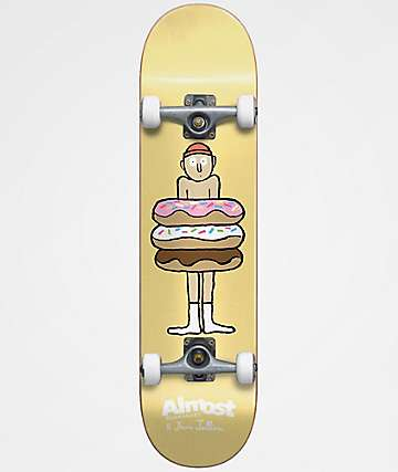 "Almost Donuts 7.0"" Complete Skateboard"