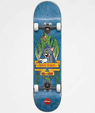 "Almost Tom Panther Resin 8.0"" Complete Skateboard"