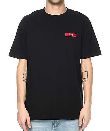 Any Memes Sup Black T-Shirt