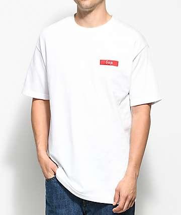 Any Memes Sup White T-Shirt